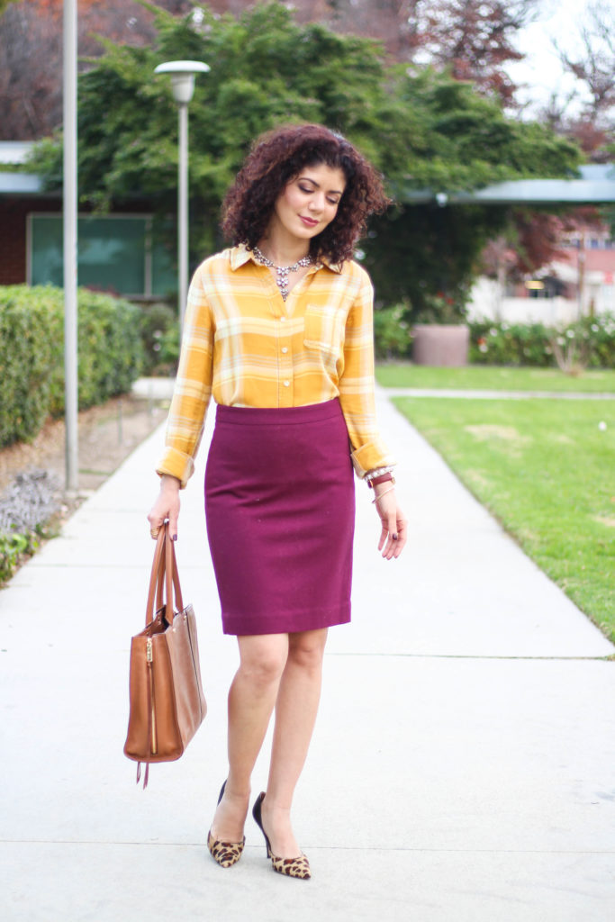 Pair Mustard And Burgundy For A Bold Color Combination