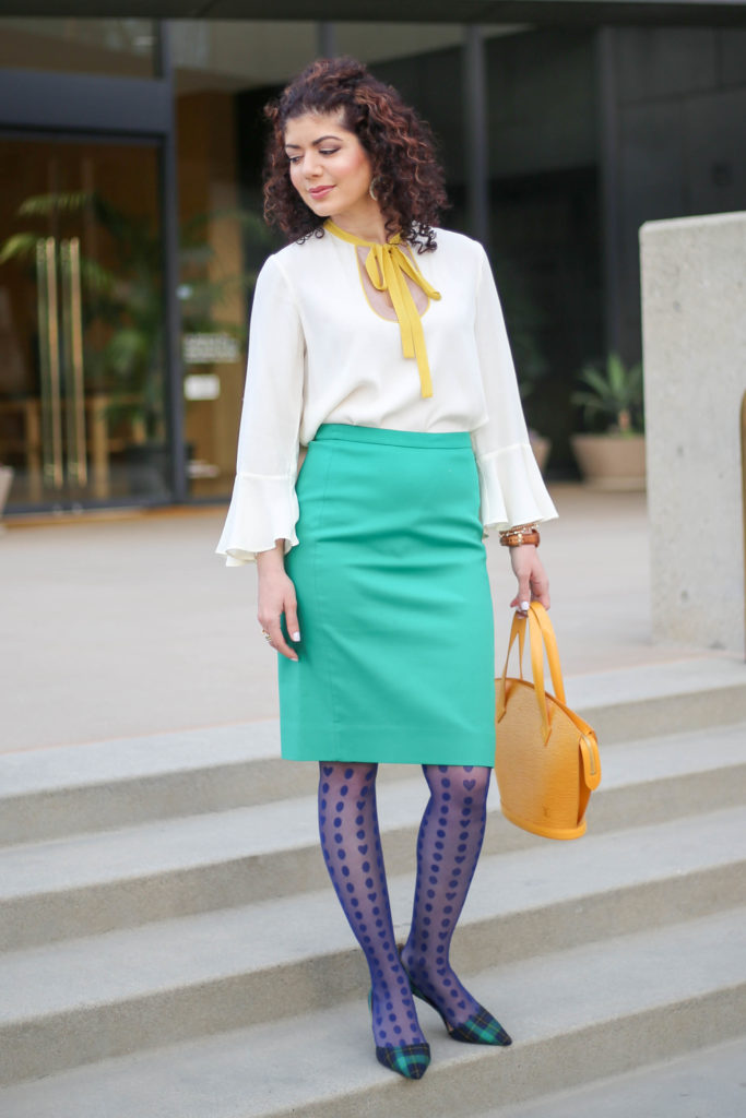 Mixing Skirt and Tights: Another Reason You Should Wear ...