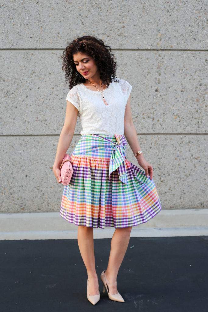 Httpwww Overlordsofchaos Comhtmlorigin Of The Word Jew Html: J Crew Rainbow Gingham Tie Front Skirt: Why I Wear Skirts