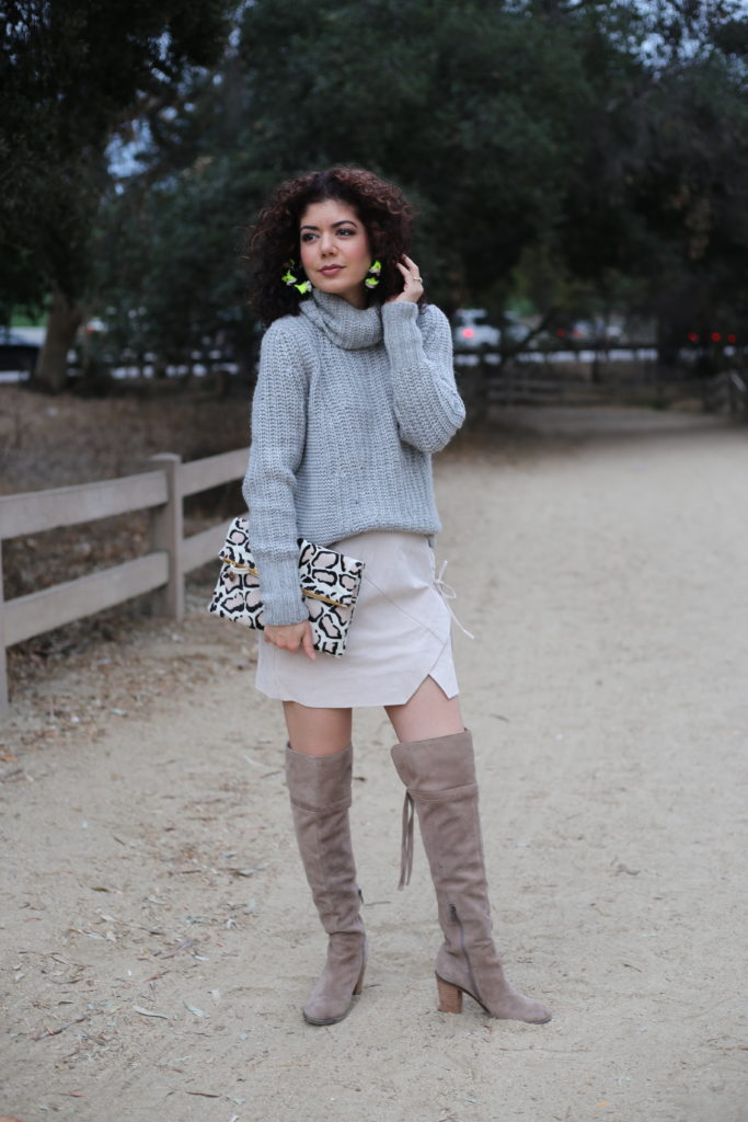 Styling a Suede Mini Skirt Outfit at Any Age: Why I Wear ...