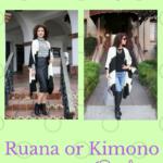 Try This: Winter Kimono